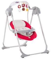 <b>Качели</b> для новорожденных <b>Chicco Polly Swing</b> Up Paprika ...