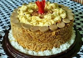 Resep Kue Ultah Indomie Goreng Oleh Ay Siska Cookpad