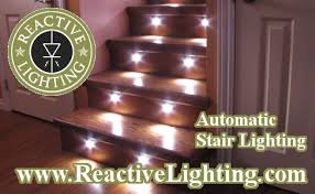 automatic led stair lighting. Purchase Stair Lighting. Reactive_Lighting_Stair_Lighting_9121 Automatic Lighting System Led R