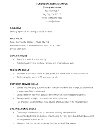 Free Functional Resume Template Cool Functional Resume Template Free Word Resume Formats Functional