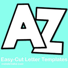 Templates Alphabet Letters Free Alphabet Letter Templates To Print And Cut Out Make