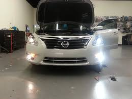 2017 Nissan Altima Led Fog Lights Which Bulbs Fit The 2015 Nissan Altima Sv Better