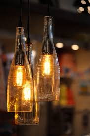 How To Make Pendant Lights From Wine Bottles The Atomic Lounge Recycled Liqueur Bottle Hanging Pendant