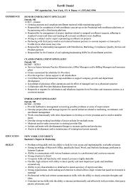Enrollment Specialist Resume Samples Velvet Jobs