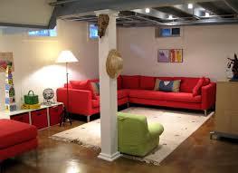 Ideas For Unfinished Basements  Ksknus - Painted basement ceiling ideas