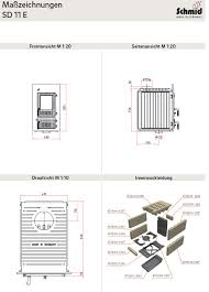 Details Zu Kachelofen Heizeinsatz Kamineinsatz Schmid Sd 11 E