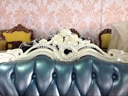 Sedie Francesi Antiche : Francese provinciale divano in pelle riproduzione antichi barocco