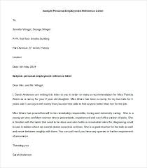 Job Nce Letter Template Recommendation Request Example Word Sample ...