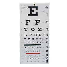 Eye Test At The Dmv Eye Chart And Dmv Eyesight Test Snellen