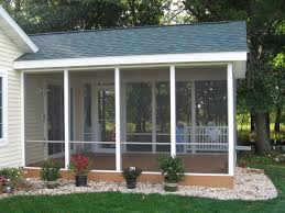 Simple Screened In Back Porch Ideas