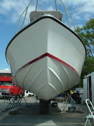 painting a boat hull