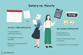 It Works Global Pay Chart Salaried Vs Hourly Employees What Is The Difference