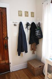 Built In Coat Rack Diy Coat Rack Faux Foyer You're So Martha 20