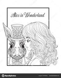 Haas Of Konijn In De Hoed Van Het Sprookje Alice In Wonderla