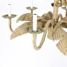 palm tree chandelier