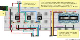 rgb led strip lights com wiring diagram