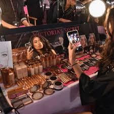 what makeup do the victoria s secret models wear