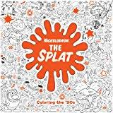 splat coloring the 90s coloring book