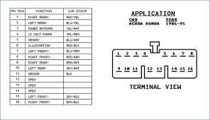 acura cl radio wiring diagram wiring diagrams schematics Panasonic Wiring Harness Diagram at Panasonic Car Stereo Wiring Diagram