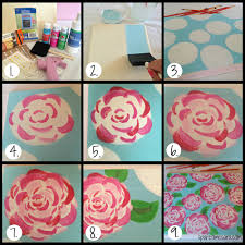 Easy Floral Designs To Paint Painting Roses Sorority Series How To Paint Lilly Pulitzer