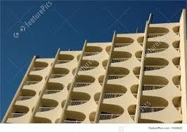 Modern Apartment Building Facade Stock Photo I At FeaturePics - Modern apartment building facade