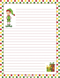Christmas Writing Paper Template Free Printable Christmas Writing Paper Templates Axepl Com