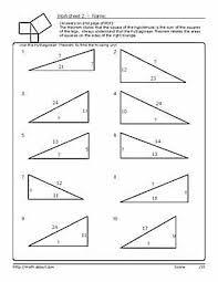 Math Worksheet » Free Math Worksheets Pythagorean Theorem - Free ...