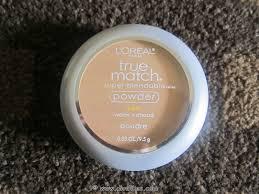 l oreal paris true match super blendable powder natural beige review