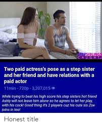 Teen Lesbian Step Sisters