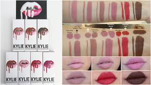 Kylie Cosmetics Lip Kit Lip Swatches on ...