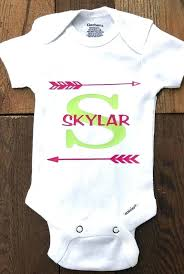 monogrammed baby onesies personalised gifts ideas monogram baby initial baby custom baby monogrammed baby boy