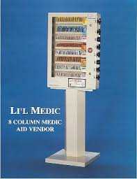 Medical Vending Machines Custom Medical Vending Machines Medicine Vending Machines Lil' Medic