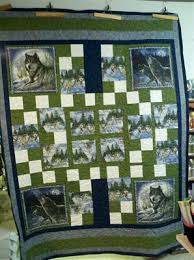 Susie's Wolf Quilt - Quilters Club of America | Sewing Inspiration ... & Susie's Wolf Quilt - Quilters Club of America Adamdwight.com