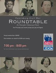 this month brian mcknight professor of history at university of virginia s college at wise will be speaking the petersburg civil war roundtable