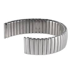 popular expansion band watches buy cheap expansion band watches 18mm stainless steel silver expansion stretch wrist watch band strap men women replacement