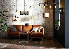lighting industrial look. Wall Lights Living Room Create The Industrial Look In Your Interior With A Lighting Upgrade From Mesh Pendants To Light Fixtures .
