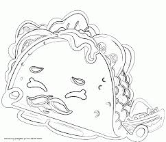 Shopkin Coloring Pages Printable Jokingartcom Shopkin Coloring Pages