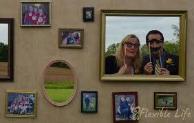 diy wedding photo booth prop wall