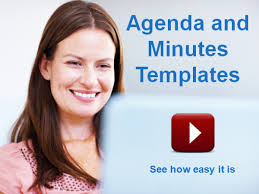 Meeting Minutes Template In Meetingking - Easier & Faster Than Word