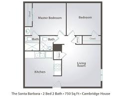 Bedrooms  Modern 2 Bedroom Apartment Floor Plans Two Bedroom Plan Apartments Floor Plans 2 Bedrooms