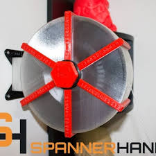 spannerhands spool system wall mounted spool holder dust cover image