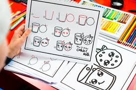Art For Kids How To Draw Funny Food Art For Kids Hub