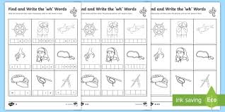Whale, why, whip, wheel, white, what, when, whack, which, and whistle. Find And Write Wh Words Word Search Differentiated Sheets