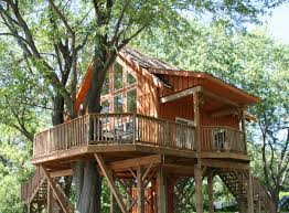 Treehouse Pictures Robins Roost Treehouse St Lawrence Parks Commission