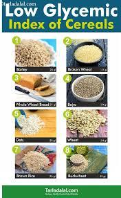 List Of Low Gi Indian Veg Foods Tarladalal Com