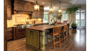 Rustic Kitchen Island Ideas Custom Design