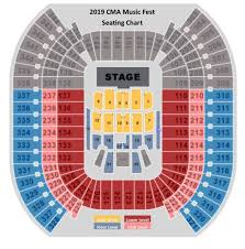 Nissan Stadium Cma Fest Seating Chart 5 Star Hermitage Hotel With Gold Circle Seating For Cma