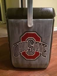 fraternity painted cooler ohio state