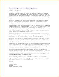 Letter Of Recommendation Samples For Graduate School Dolap