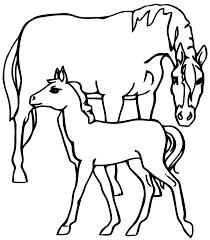 Coloriage Le Cheval Le Cheval En Coloriage A Imprimer L